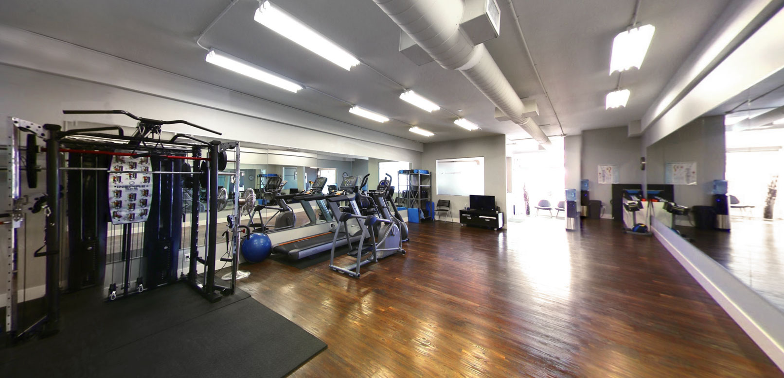 kinesiology studio gym at North 49 physiotherapy