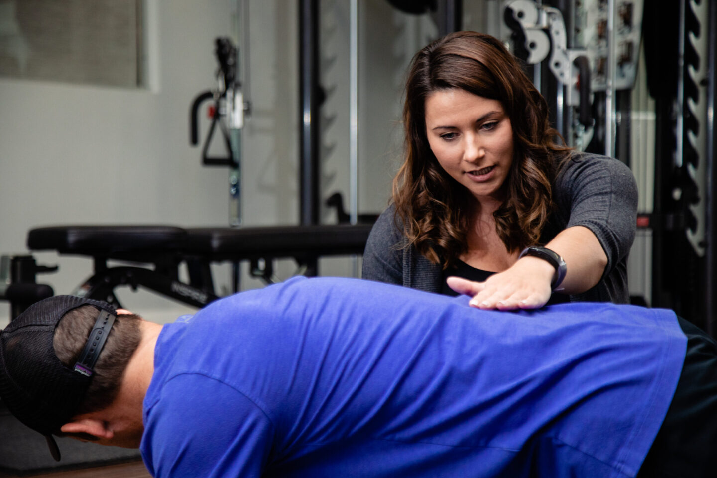 Kinesiology appointment at North 49 gym